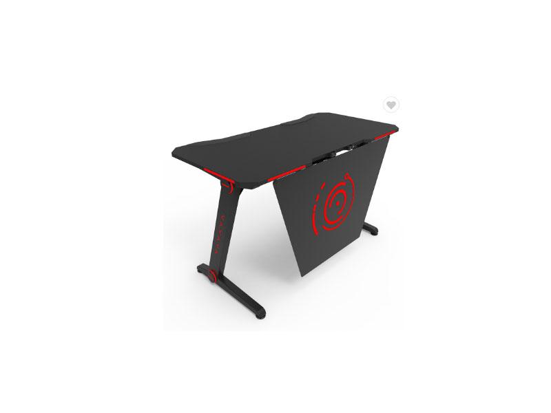 Gaming Computer Desk Fashion PC Black Table with Colorful RGB Lights GD21 STD