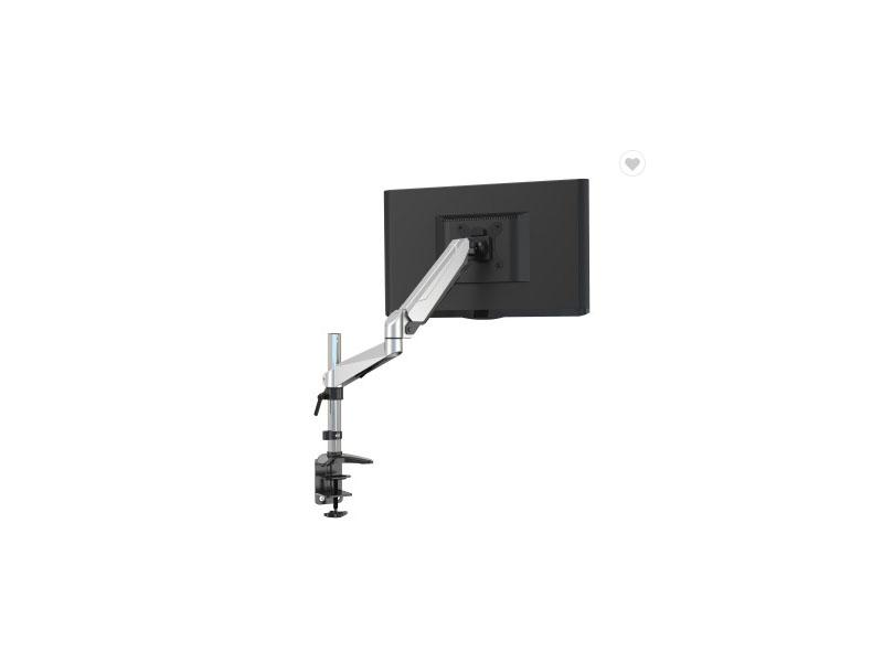 Monitor Mount Single Arm Monitor Riser Bracket Stand Support, Gas Spring Desk Mounts for 13-27in LCD