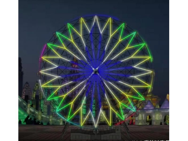 Ferris Wheel Light Design LED Light Effect