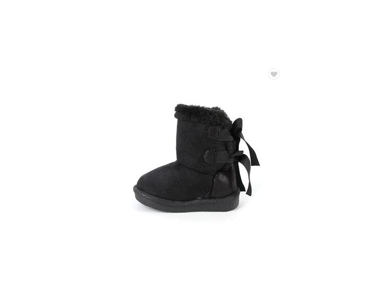 Wholesale High Quality Cheapest Price Black Winter Baby Snow Boots
