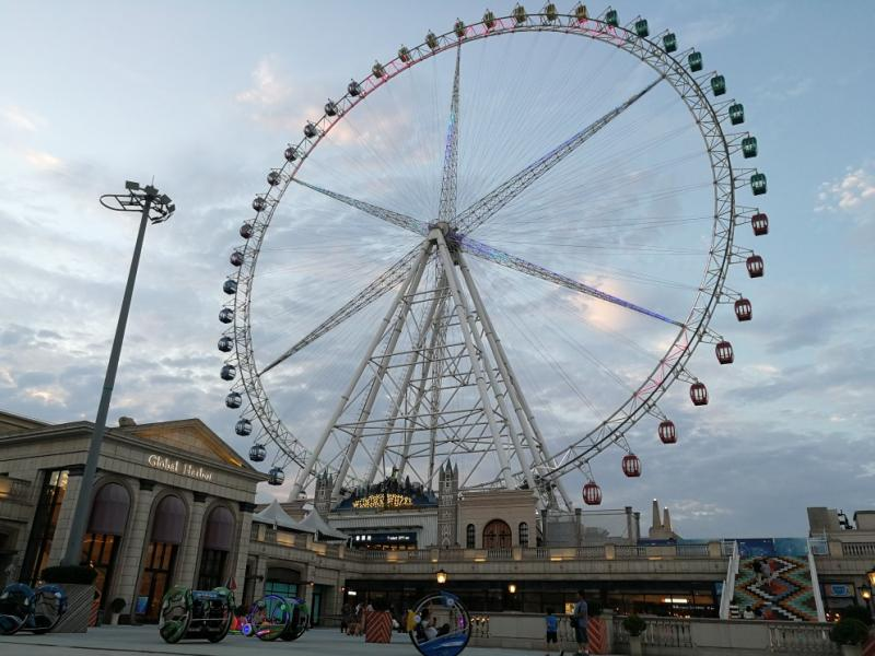 88 Meters Ferris Wheel Landmark Wheel City Eye