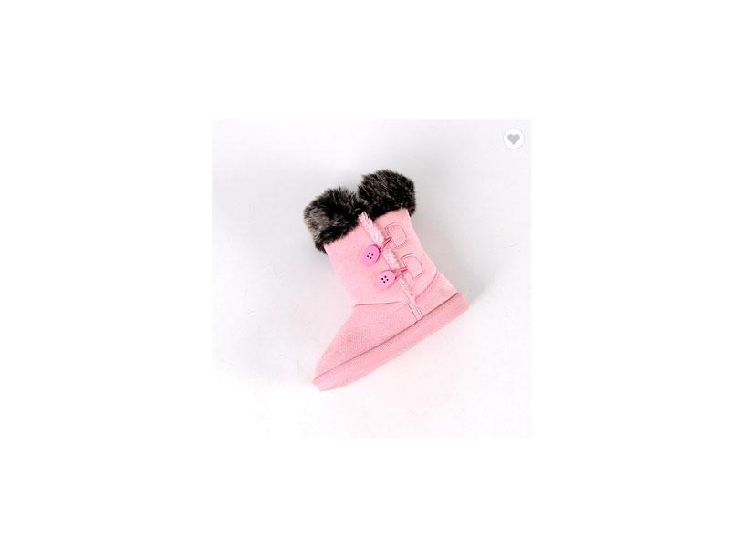 Winter Shoes for Girls Plush Boots Kids Keeping Warm Baby Snow Boots Children Shoes