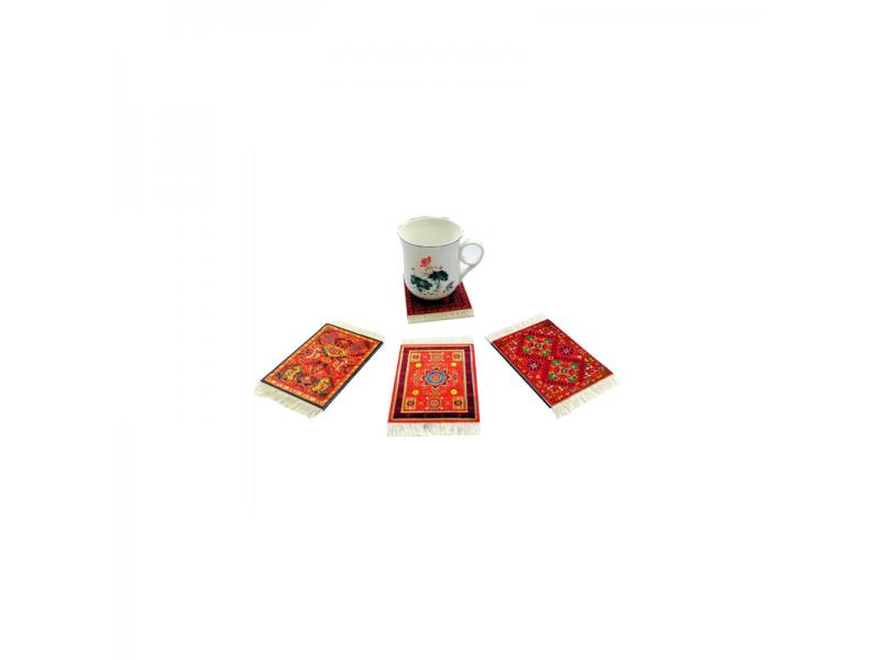 Oriental Cup Coasters, Custom Drink Cork Coaster for Drink Gift