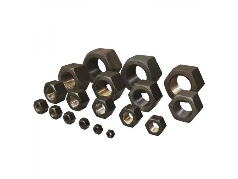 Carbon Steel DIN934 Plain Zinc Coated Zp Yzp Hex Nut