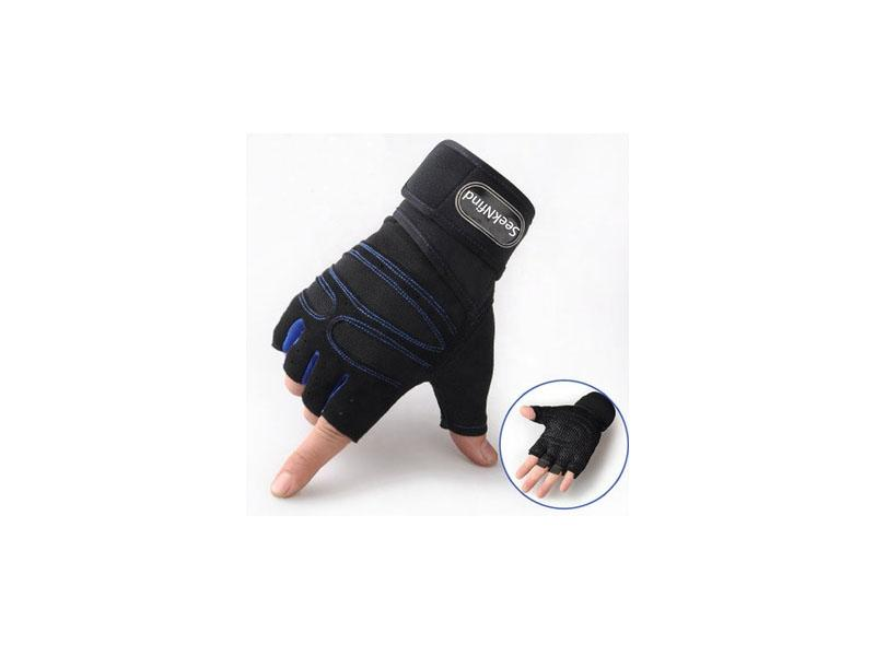 Half Finger Sports Gym Gloves Weightlifting Cycling Gloves Workout Bike Gym Custom Gym Gloves
