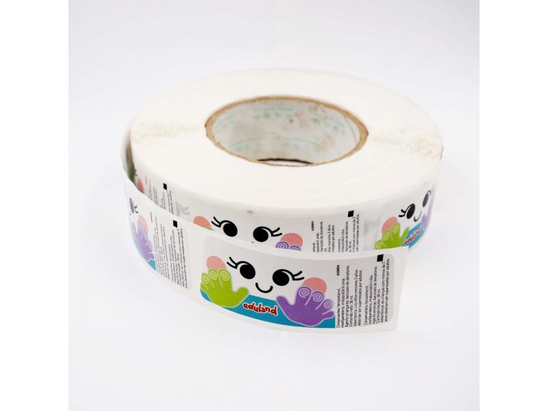 Custom Good Quality Label Logo PVC Printable Self-Adhesive Vinyl for Sticker
