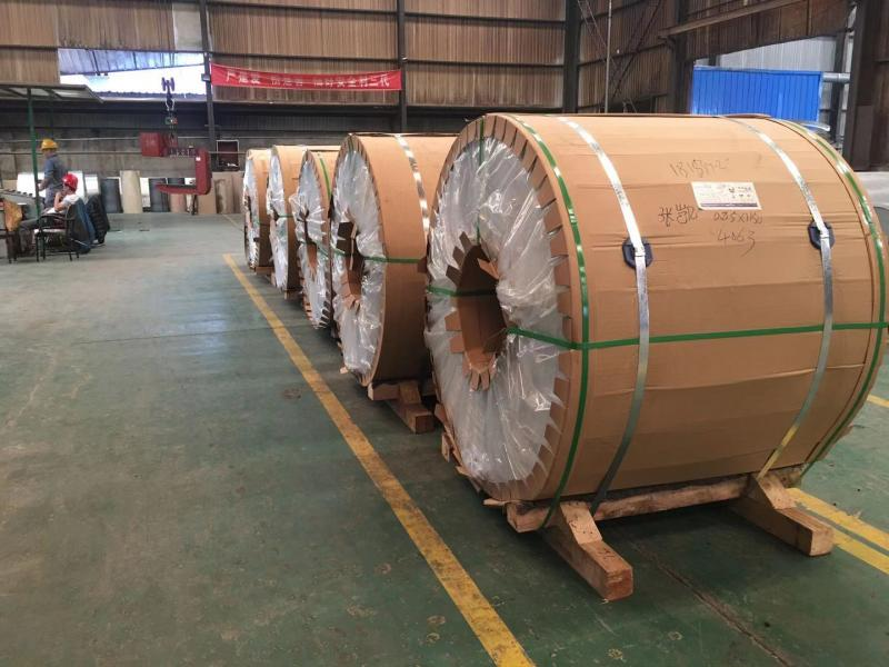 PPAL COLOR STEEL COIL (RAW MATERIAL IS ALUMINUM)