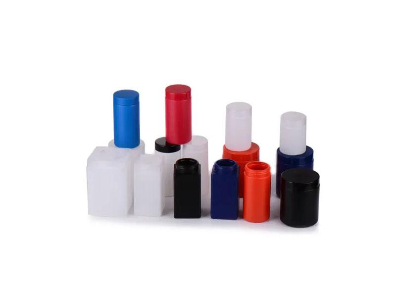 Boston Plastic PET Bottle with Screw Lid and Plug for Cosmetic