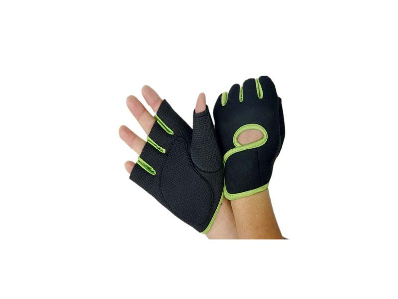 Abrasion Resistant Comfortable Half Finger Fashion Gym Fitness Sports Gloves