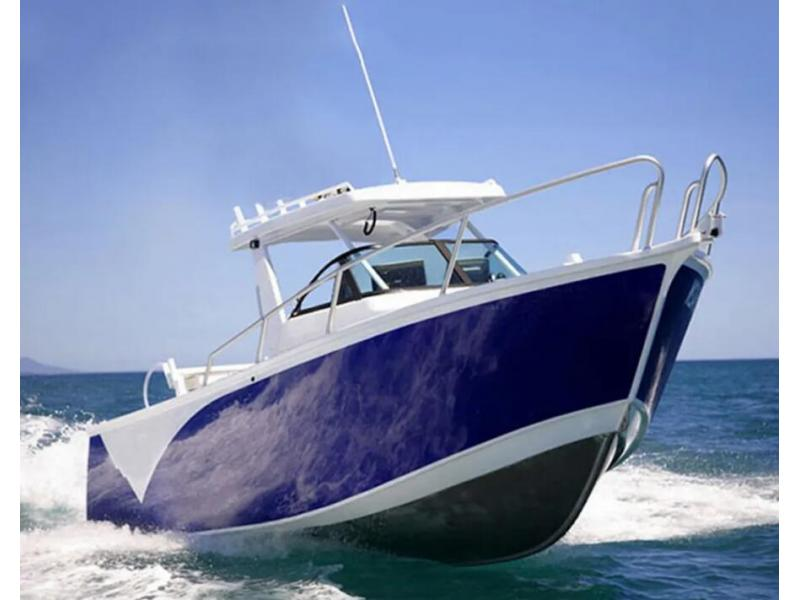 6.25m Closed Center Cab Hardtop Aluminium Boat