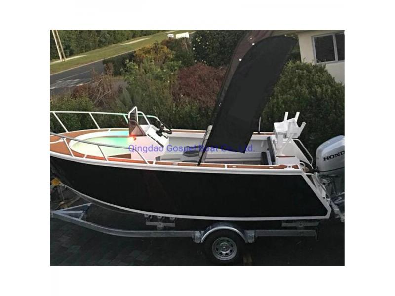 6m Centre Console Aluminum Fishing Boat with Luxury Plywood Timber Flooring