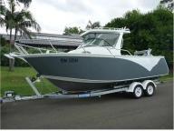 25FT Sailing Yacht Aluminium Center Cab Speed Boat