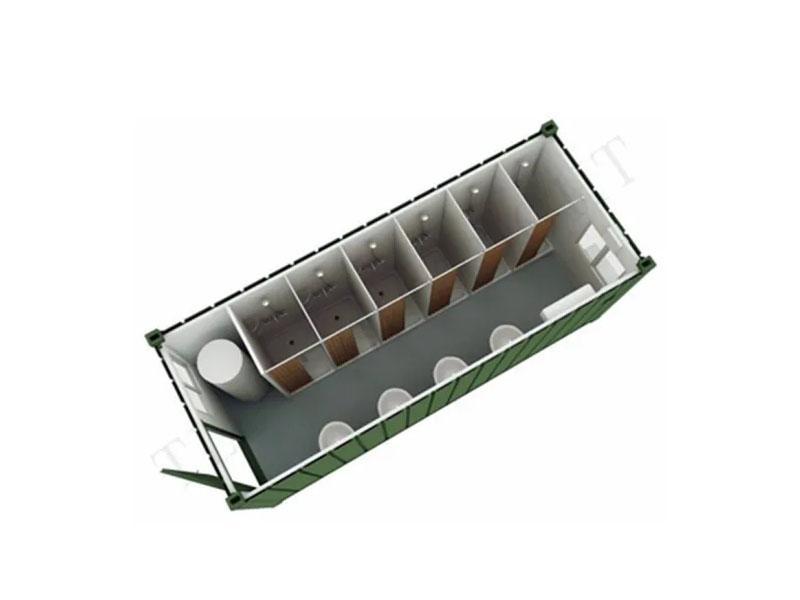 Modular Prefab Flat Pack Prefabricated Container Portable Bathroom
