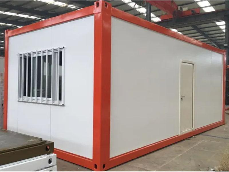 Low Cost Prefabricated Steel Kit Mini Mobile Homes for Sale