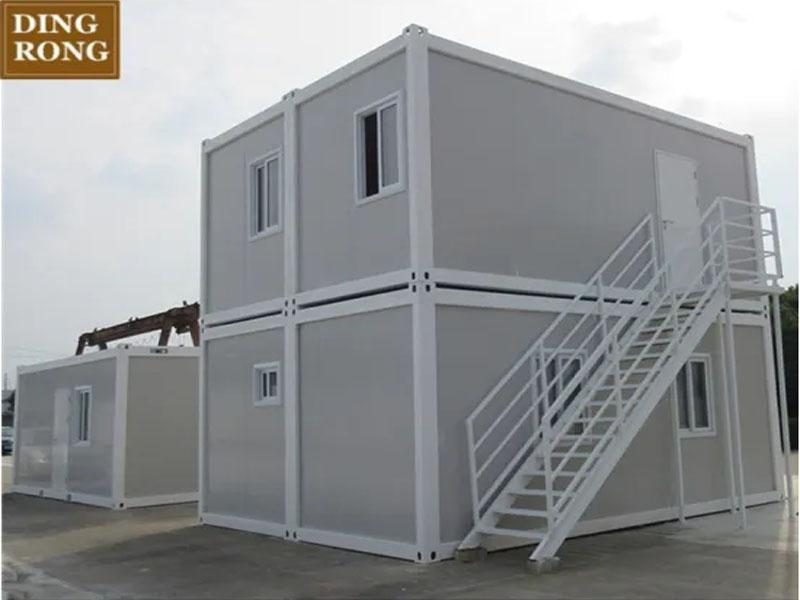 Prefabricated Homes 2 Bedroom Portable Folding Hotel Cabins