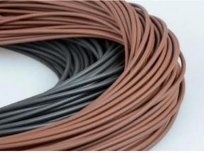 High Quality Brown Black FKM FPM Viton Rubber Cords O Ring Cords Sealing Strips