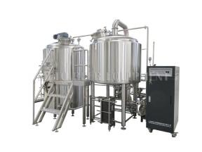 Commercial Turkey Beer Brewery Equipment/Brewhouse System Craft Brewing Plant Microbrewery Equipment