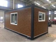 China Granny Cabin Steel Prefab Hotel 20 FT Container Luxury