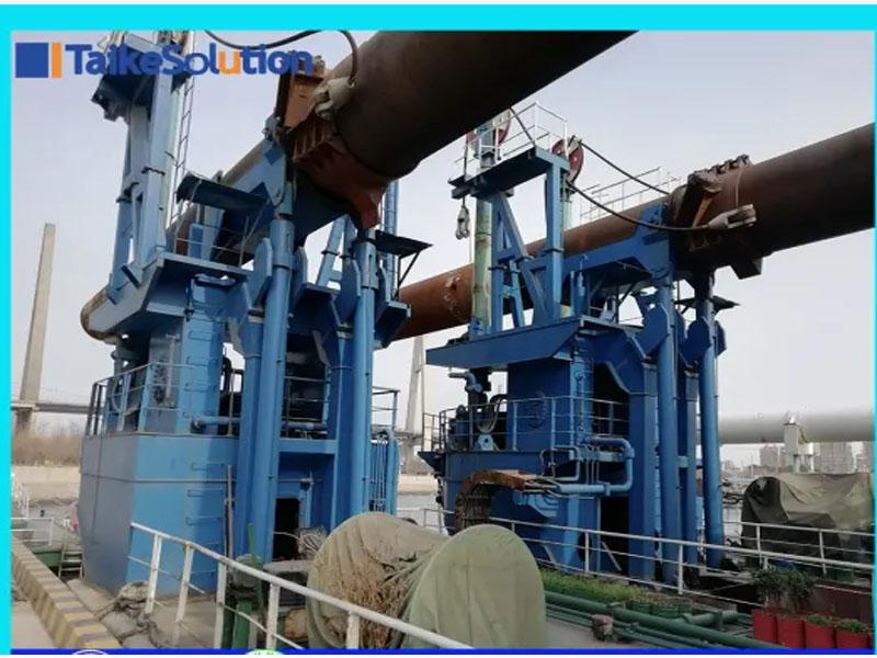 Port Cutter Suction Dredger with Spud Carrier for Sale