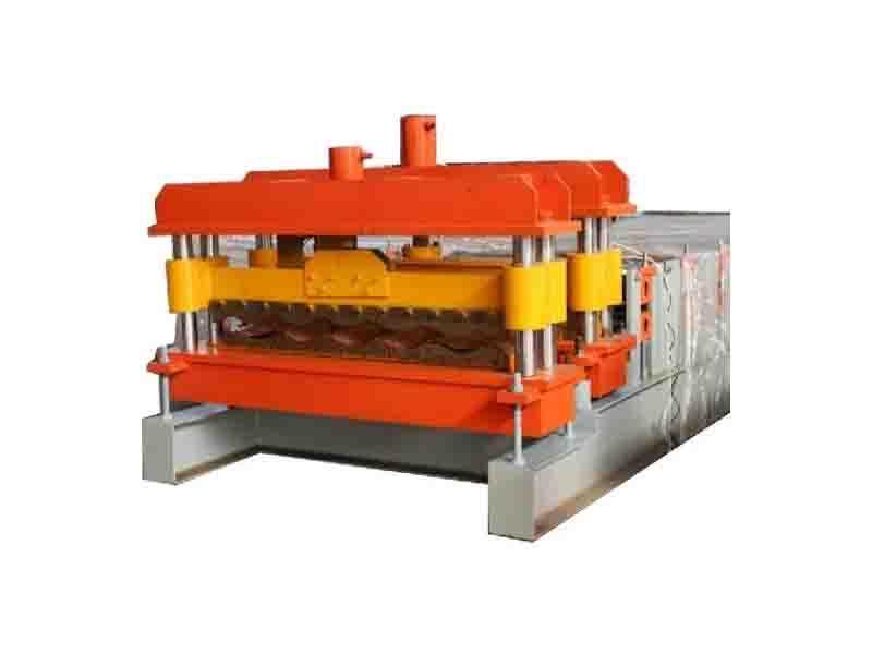 Export Standad Metal Tile Making Machine Roof Tile Machine