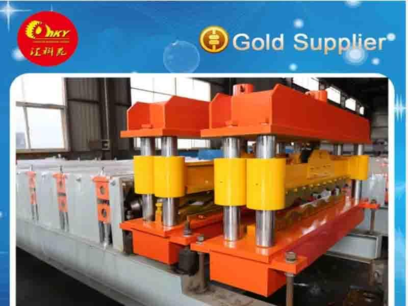 Professional Manufacturer of Tile Roll Forming Machine