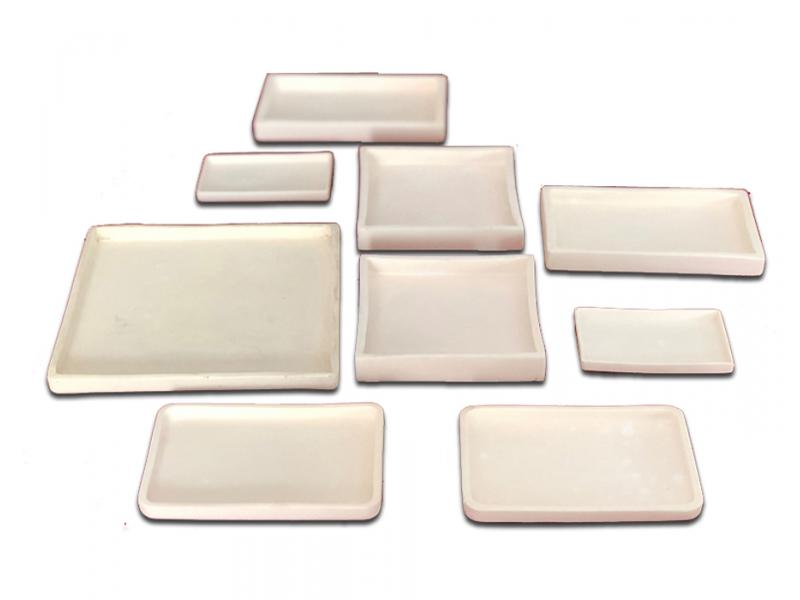 Industrial Rectangular 99.7%Alumina Ceramics Tray/Plate