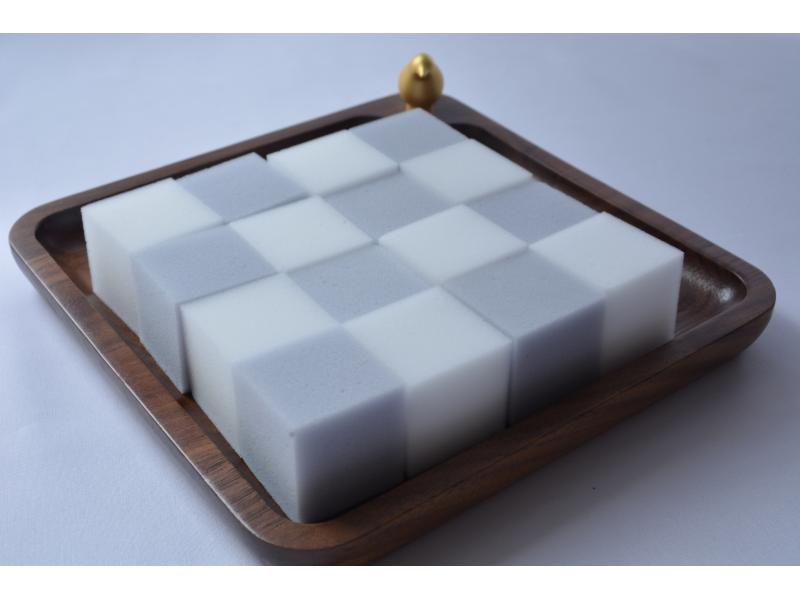Small Sponge Blocks Gray and White Cleaning Sponge Hot Sale Size in Japan Markets