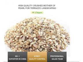 Mother of Peal Crushed Sea Shell for Terrazzo Flooring Engineering Stone