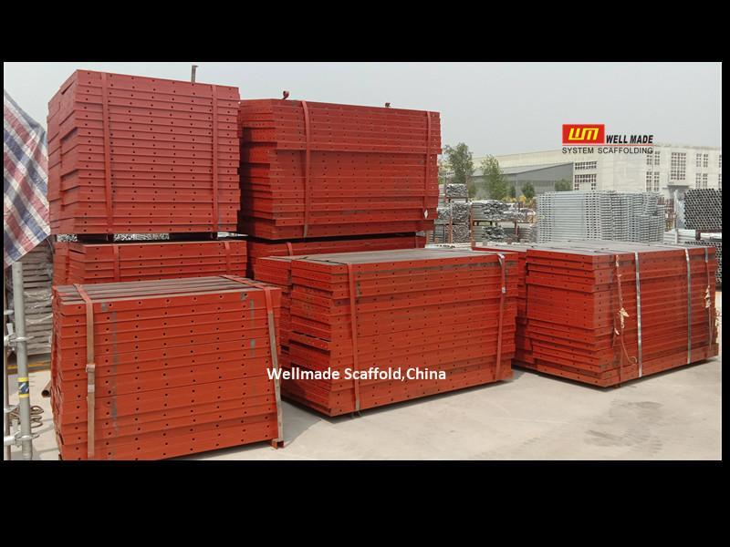Formwork Steel Panel Flat Panel Concrete Shuttering Metal Forms
