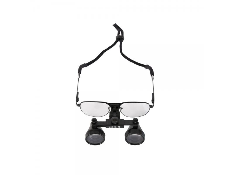 Loupes 2.5x Surgical Loupes Microsurgery Glasses for Dental Metal Frame