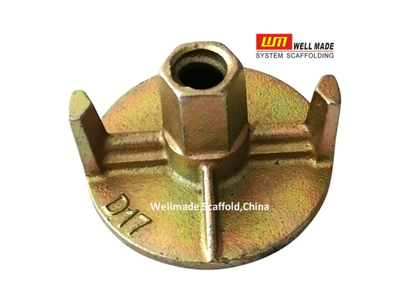 Formwork Dywidag Tie Rod Nut Wing Nut Anchor Nut for Concrete Construction