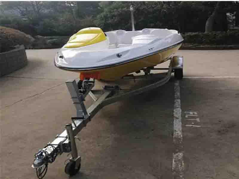 CE Approved 15FT Fiberglass Ski Boat with Customized Color and Logo