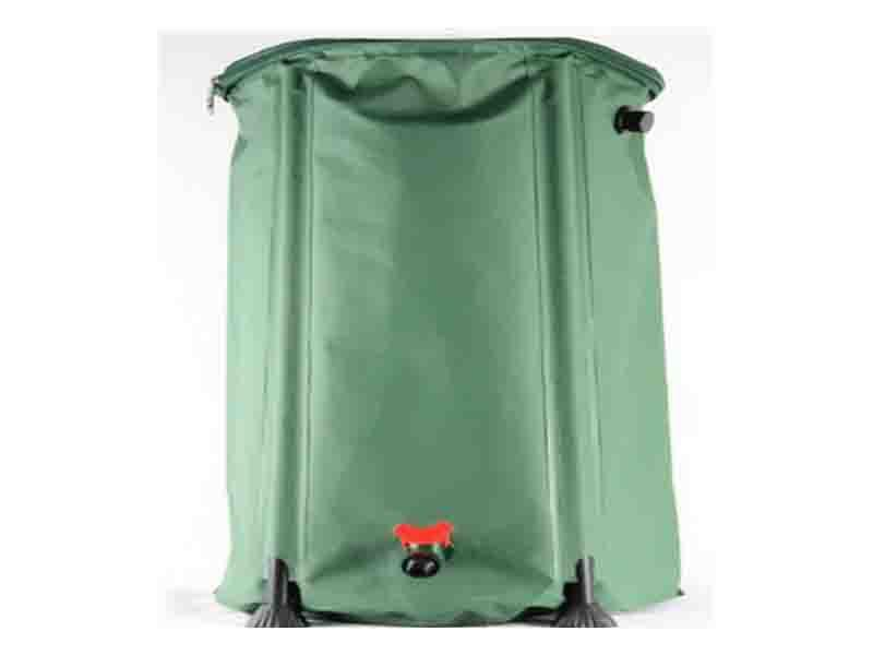 Collapsible Rain Water Barrel for Garden Irrigating by Rainwater