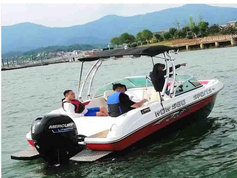 CE Certification and FRP Hull Material Fishing Boat