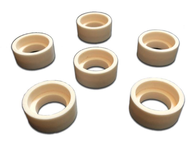 Alumina Ceramic Tube Inner Diameter Connecting Flange Parts