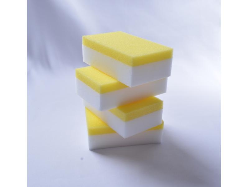 White Magic Sponge Cleaning Eraser Foam Melamine Sponge Composite Eraser Foam