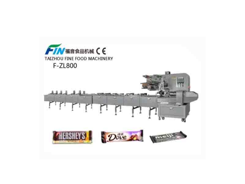 Automatic Feeding Pillow Food Packaging Machine for Chocolate and Candy