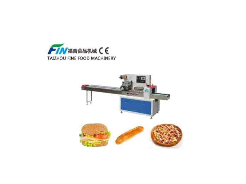Flow Packing Machine for Bread Commodity Food Packing