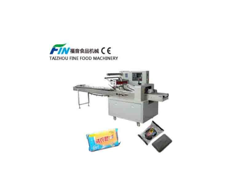 Flow Packing Machine for Bread  Soap Biscuit  Chocolate