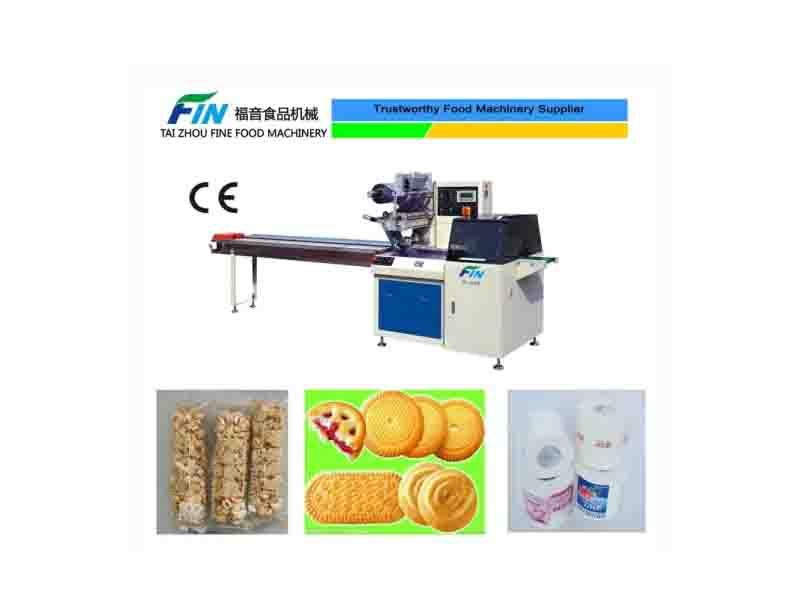 Flow Packing Machine for Bread Soap Food Packing