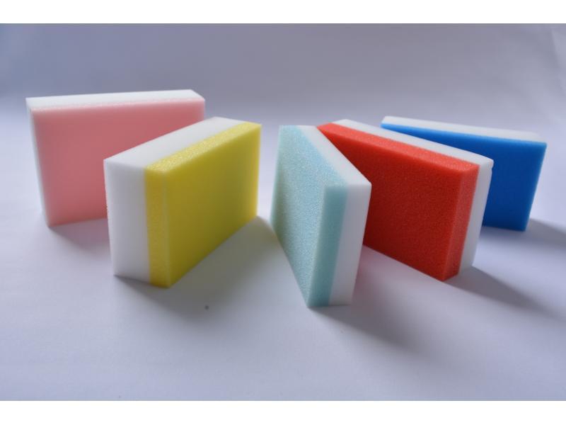 Colorful Magic Sponge Cleaning Eraser Foam Sponge Kitchen Cleaning Sponge