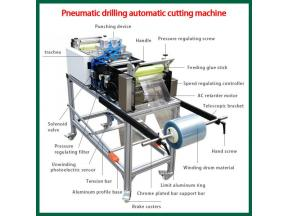 Pneumatic Drilling Automatic Cutting Machine