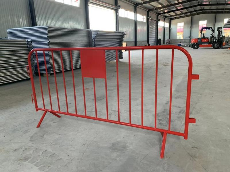 Security Fence Pedestrian Barricades,Pedestrian Event Guardrail,Concert Steel Barrier Bike Tour