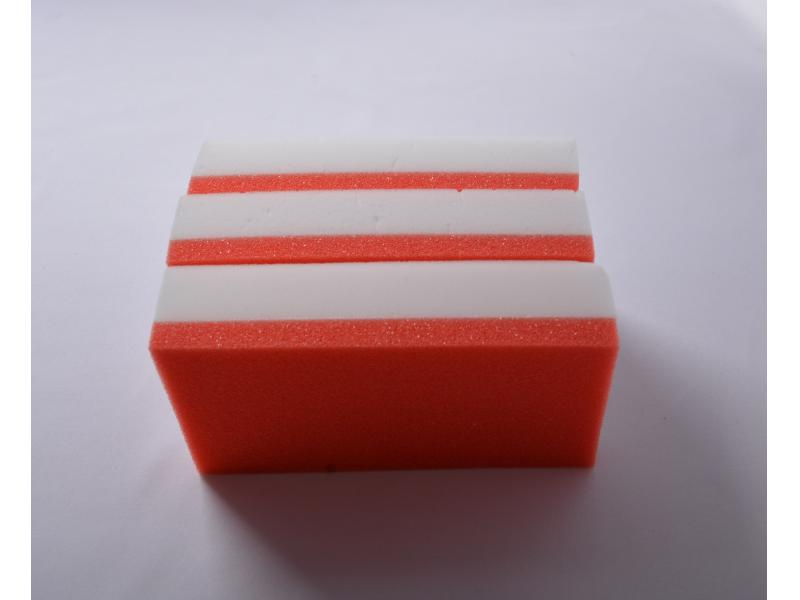 Red PU Scrubber Sponge Magic Sponge House Cleaning Eraser Foam Melamine