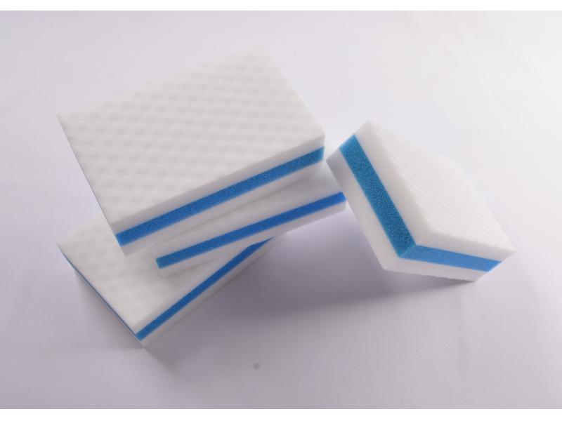 Extra Power Sponge Composite with PU Sponge Melamine Eraser Foam