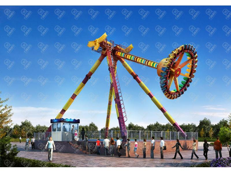 Outdoor Amusement Games New Design Swing Hammer Ride Big Pendulum for Sale