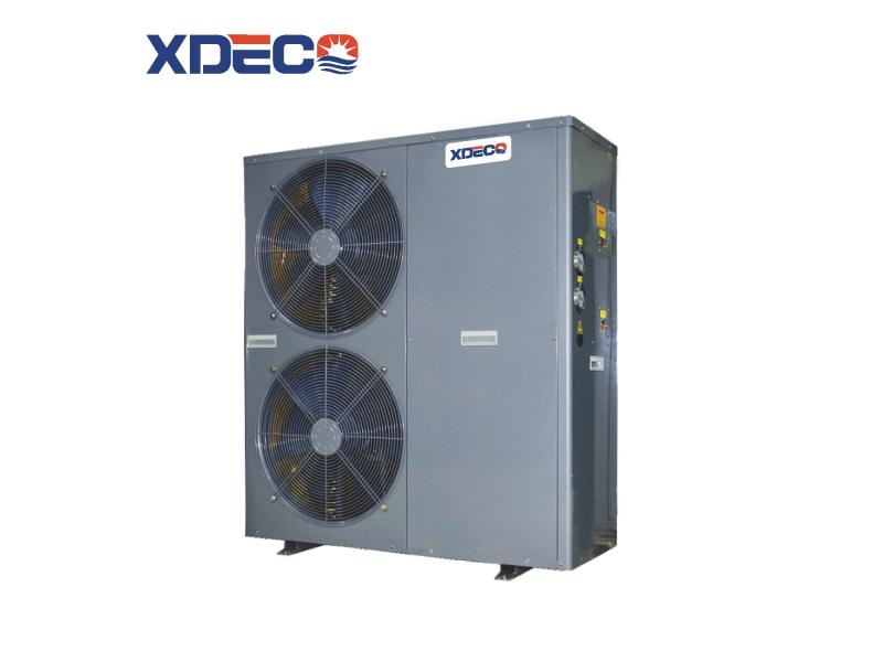 DC-Inverter  Heat Pump for House Heating and Cooling