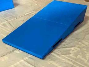 Folding Gymnastics Cheese Wedge Skill Shape Tumbling Preschool Incline Mat