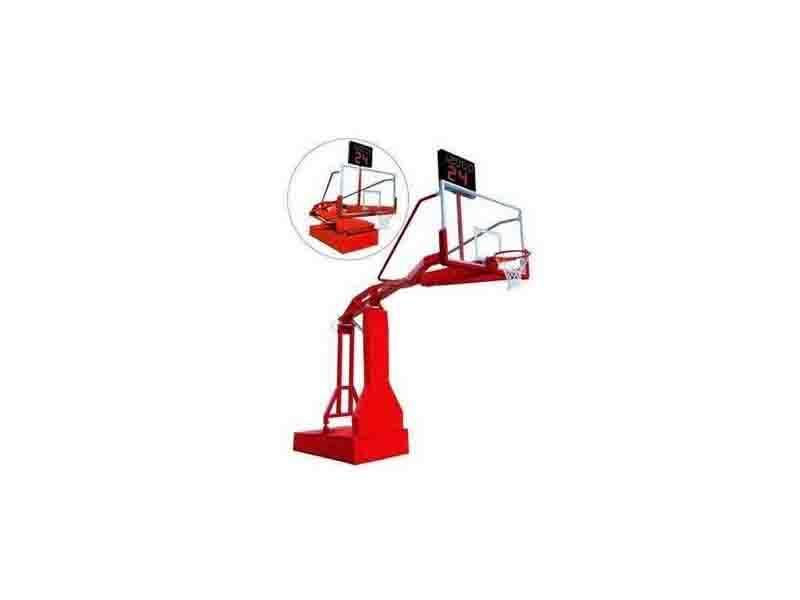 Manual Hydraulic Basketball Stand