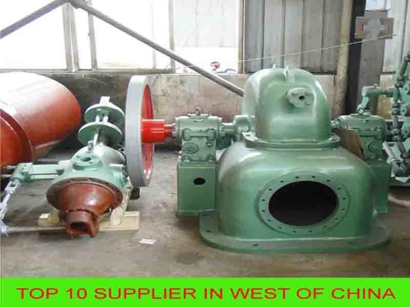 Micr Water Turbine Generator for Power Plant
